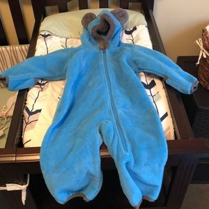 Toddler cold weather suit